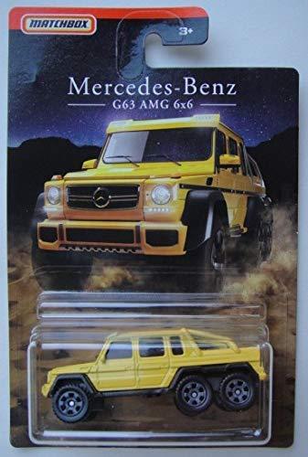 Amazon Com Matchbox Mercedes Benz Series Yellow Mercedes Benz G63