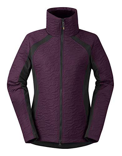Kerrits Unbridled Horse Quilted Jacket Boysenberry Size: Medium