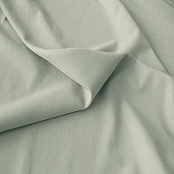 Stoff Meterware Uni Weiß Baumwolle 240 cm Dekostoff Baumwollstoff Deko