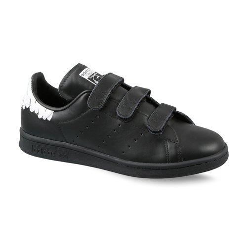 the latest 7b77a 74d94 Galleon - Adidas Originals Women s Stan Smith CF W Sneaker,  Black Black White, 6.5 Medium US