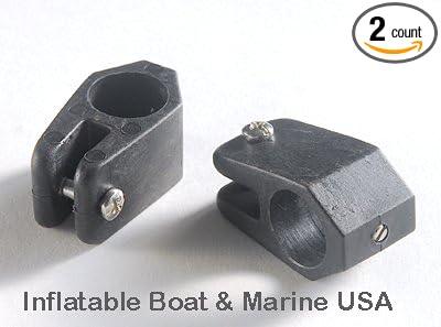 """Bimini Top Jaw Slides 3//4/"""" Tube BLACK Nylon Pair Boat"""