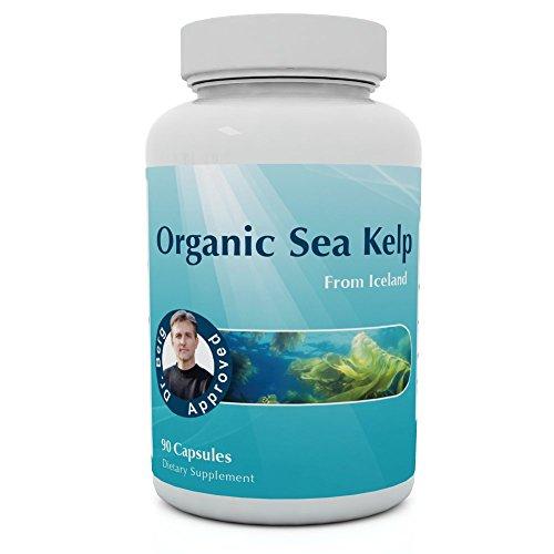 Organique mer varech supplément - 90 Capsules - pur islandais varech - iode naturel & mer nutriments par Dr Berg
