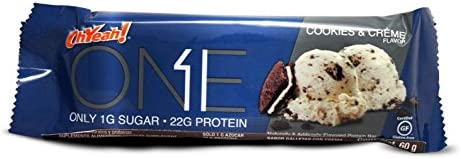 Oh Yeah ONE Bar, 1er Pack (12x60g) (Cookies & Creme)