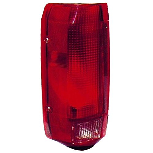 Aftermarket Replacement Left Driver Side LH Tail Light for 1992-1997 Ford F150 F250 and 1992-1996 Ford Bronco