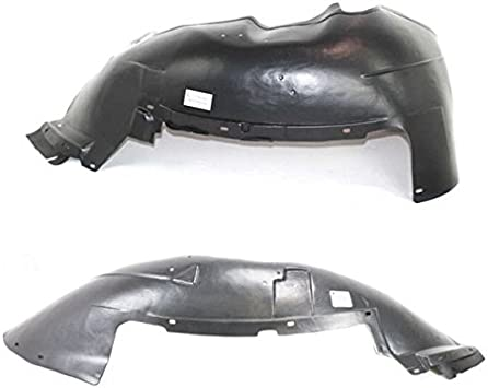 07-13 Silverado 1500 Front Splash Shield Inner Fender Liner Left Right SET PAIR