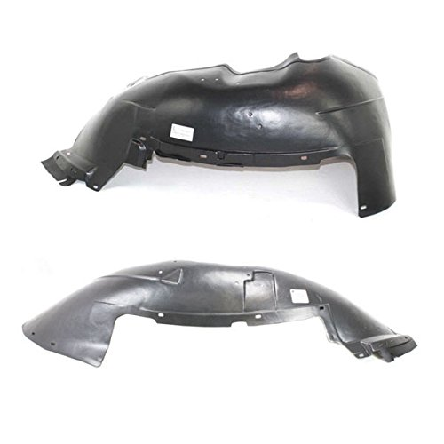 Koolzap For 99-07 Silverado Truck Front Splash Shield Inner Fender Liner Left Right SET PAIR