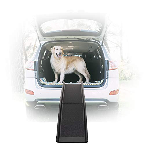 Dog Ramps for Large Dogs SUV - 16 Inches Wide 62 Inches Long Pet Dog Ramp for Bed, Car, Truck - Outdoor Indoor Use for by Old or Injured Small Medium Large Dog Better Than Pet Stairs Steps