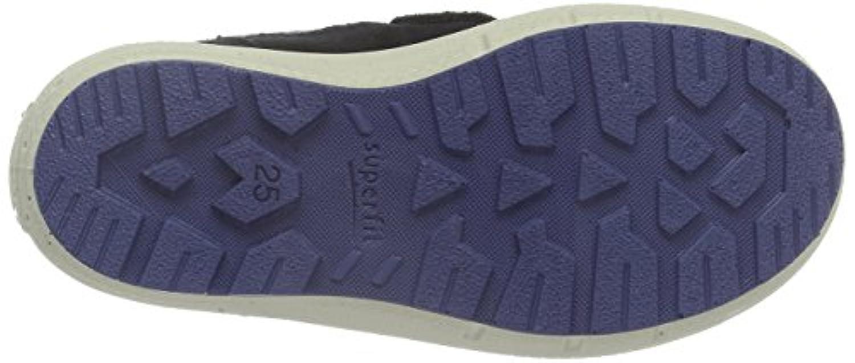 Superfit Boys' Groovy 700311 Ankle Boots, Blau (Ocean Kombi 81), 4 Child UK
