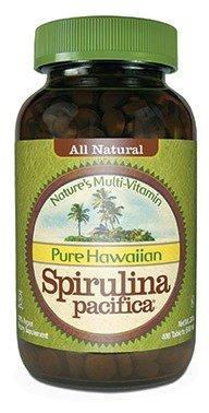 Spirulina Pacifica 500 mg 400 Tablets
