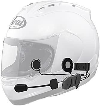 Sena 10R-01D Low Profile Motorcycle Bluetooth Communication System Dual
