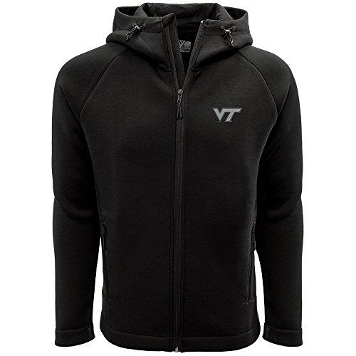 Levelwear LEY9R NCAA Virginia Tech Hokies Adult Men Titan Insignia Strong Style Full Zip Hooded Jacket, XX-Large, ()