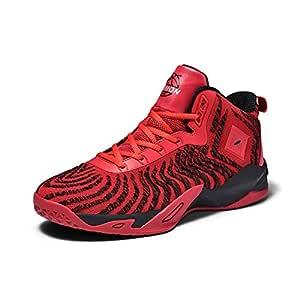 WFWPY High-Top Sneaker Calzado de Baloncesto Zapatillas de Deporte ...