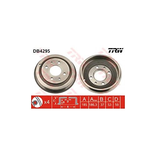 TRW DB4295 Brake Drums: