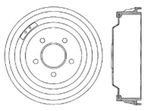 Centric 123.61014 C-Tek Brake Drum