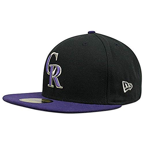 New Era 59FIFTY Colorado Rockiesals MLB 2017 Authentic Collection On-Field Alternate Fitted Hat Size 7 5/8