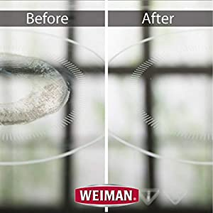 Weiman Glass Cooktop Cleaner - before and after