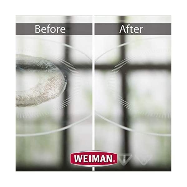 Weiman Cooktop Cleaner Kit - Cook Top Cleaner and Polish 10 oz. Scrubbing Pad, Cleaning Tool, Cooktop Razor Scraper 3