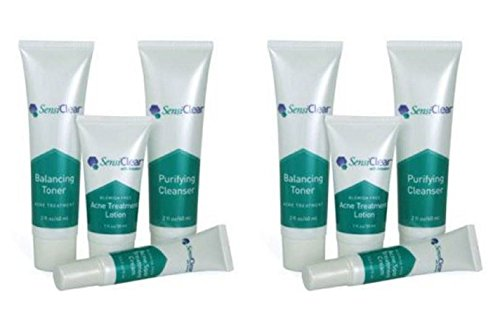 2 Sets Acne creams SensiClear Acne Skin Creams Lotion cure stop acnes pimples blemish zits zit Cream Zit no benzoyl