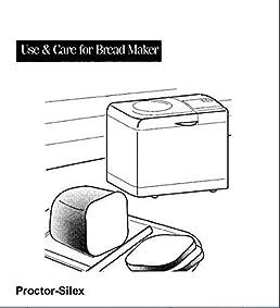 proctor silex bread machine manual model 80139 reprint rh amazon com proctor silex manual pdf proctor silex microwave manual