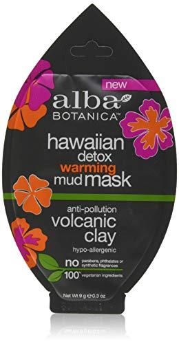 Alba Mask Facial - Alba Botanica Alba hawaiian detox warming mud mask anti-polution volvanic clay .3oz, 0.3 Ounce