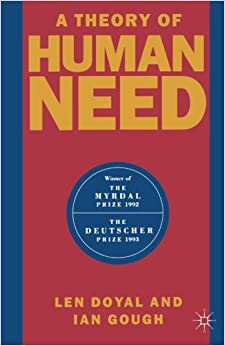 Book A Theory of Human Need