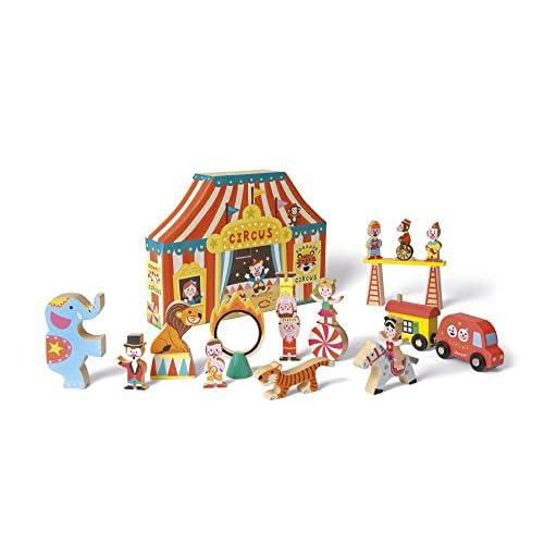 Janod J08520 - Story Box Circus Bois