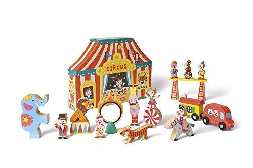Janod Story Box Circus (Vintage Elephant Toy Box)