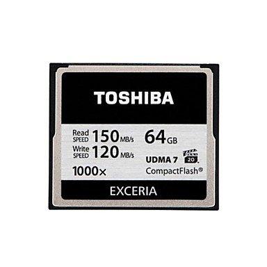 TY Toshiba 64gb tarjeta cf exceria r150w120 1000x: Amazon.es ...