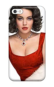 QXVPseD9709lhBve Tpu Phone Case With Fashionable Look For Iphone 5/5s - Lindsay Lohan As Elizabeth Taylor