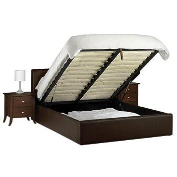 Marvelous Vienna Bed Frame 5Ft King Size Ottoman Storage Bed Brown Ibusinesslaw Wood Chair Design Ideas Ibusinesslaworg