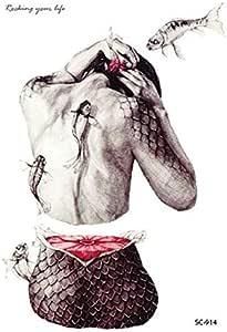 Halloween Horror Temporary Tattoo