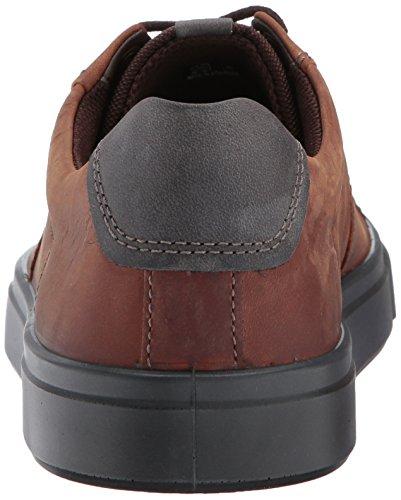 Ecco Uomo Kyle Street Tie Fashion Sneaker Cognac