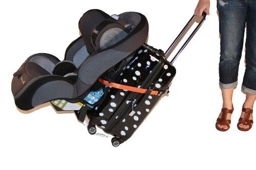 Go-Go Babyz Travelmate Car Seat Luggage Strap, Orange, One Size