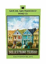 2015 Save Me San Francisco Bullet Proof Picasso Sauvignon Blanc 750 ml Wine