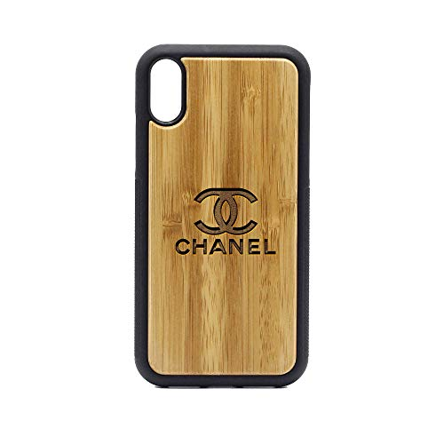 Logo Charlotte Knights - iPhone XR Case - Bamboo Premium Slim & Lightweight Traveler Wooden Protective Phone Case - Unique, Stylish & Eco-Friendly - Designed for iPhone XR ()