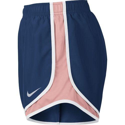 Nike Womens Wicking Colorblock Shorts Bicolore Bl / Mel Brillante / Wh / Wg