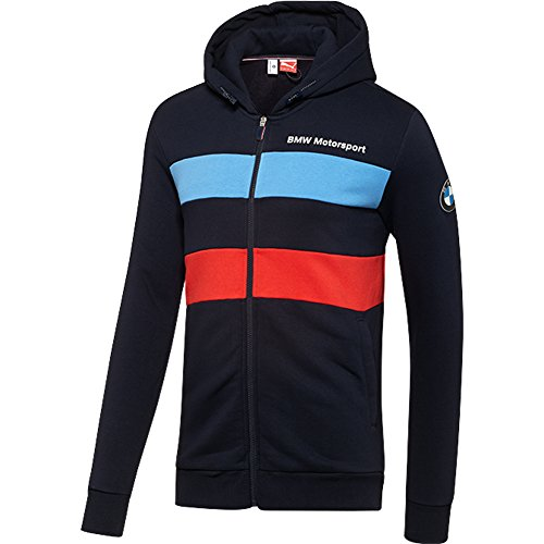 Bmwprices: PUMA BMW MSP Sweat Jacket, BMW Team Blue, Medium