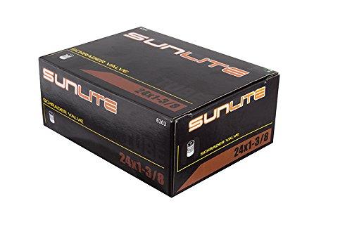 Standard Tube Sizes (Sunlite Standard Schrader Valve Tubes, 24 x 1-3/8