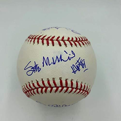 Stan Musial Bob Gibson Lou Brock St Louis Cardinals HOF Signed Baseball - JSA Certified - Autographed Baseballs