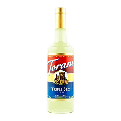 Torani Triple Sec syrup 25.4 ounce Pack of 3