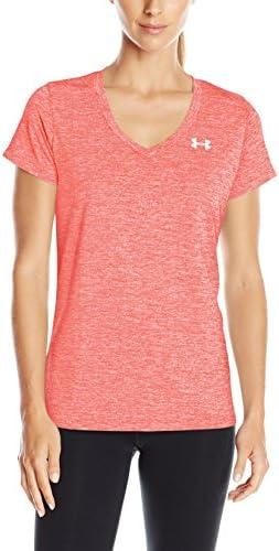 Under Armour threadborne Twist Tech Graphic Bleu Femme Sports Gym T-Shirt