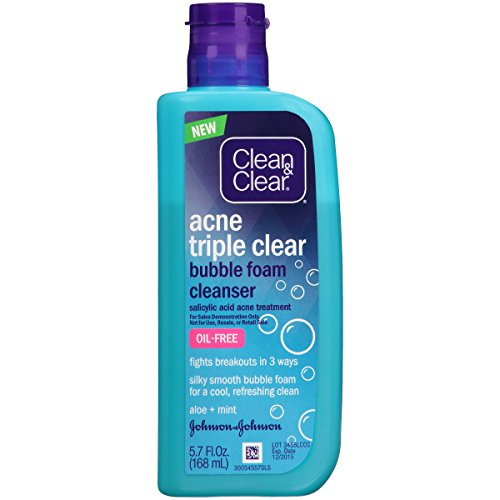 Clean Clear Triple Bubble Cleanser