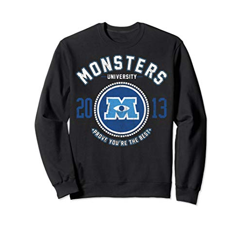 Disney Pixar Monsters University Logo Graphic Sweatshirt