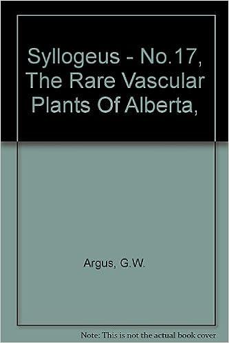 Rare Vascular Plants of Alberta