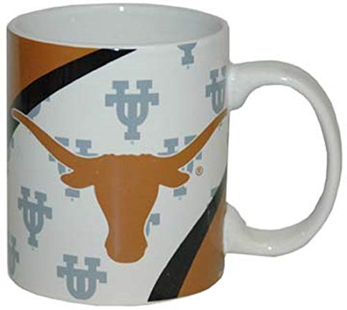 Longhorn Coffee Mug - Jenkins Enterprises Texas Longhorns Ceramic Vortex Mug