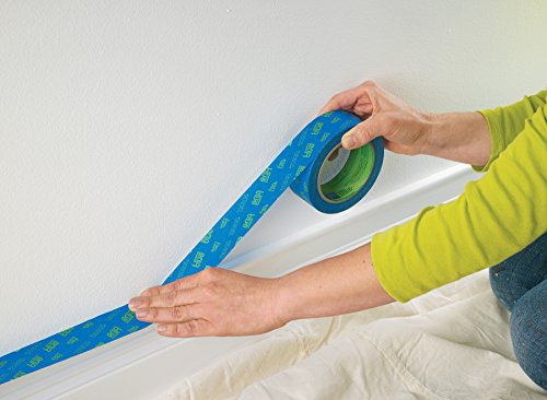 ScotchBlue 2093EL-24CVP Trim + BASEBOARDS Painters Tape.94 in x 60 yd, 3 Rolls, Blue by ScotchBlue (Image #5)