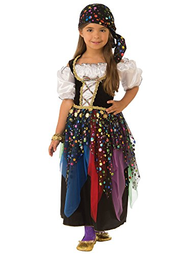 Rubie's Gypsy Child's Costume, Small ()