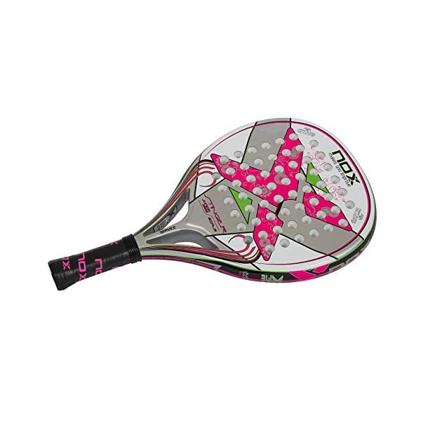 NOX Stinger Jr. 2.1Girls–Racchetta de Paddle, Colore: Rosa 3 spesavip