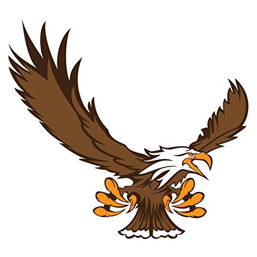 Eagle Temporary Tattoos, 25 Pack Spirit Stickers ()