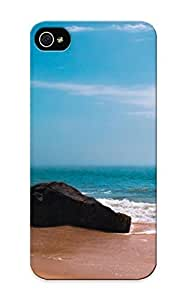 Awesome Design Stone On Empty Shore Hard Case Cover For Iphone 5/5s(gift For Lovers)